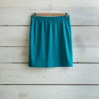 JUPE DROITE Turquoise