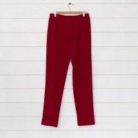 Pantalon jogging molleton Junca coloris bordeaux